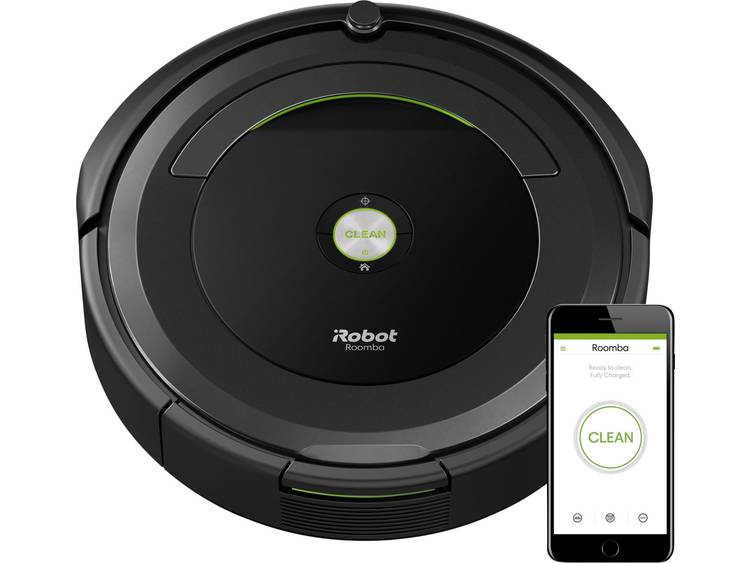 iRobot Roomba 696 Robotstofzuiger Zwart, Grijs 1 virtuele muur