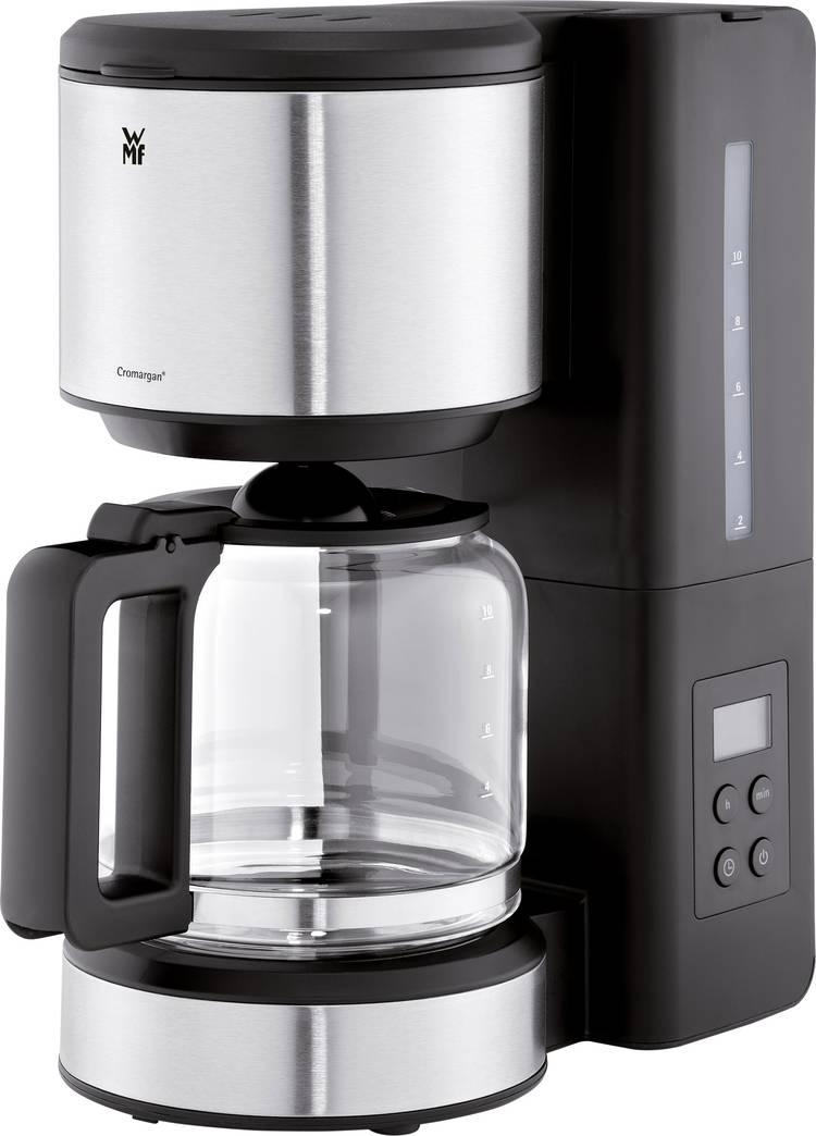 Image of Koffiezetapparaat WMF Stelio Aroma Digital Zilver, Zwart Capaciteit koppen=10 Timerfunctie