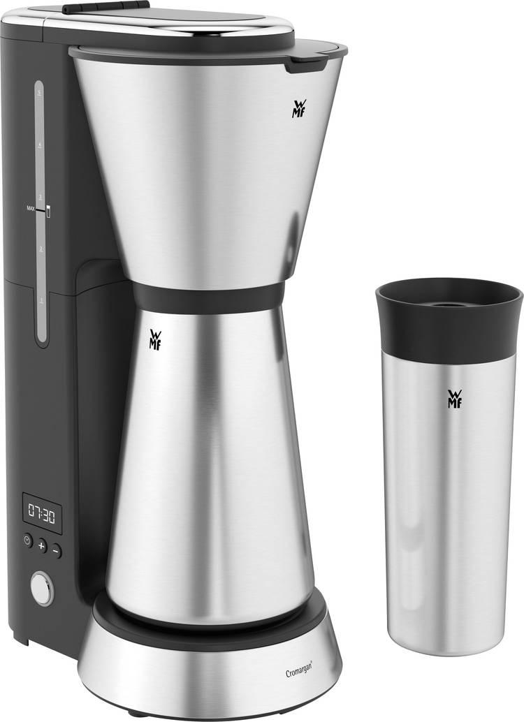 Image of Koffiezetapparaat WMF KÜCHENminis Aroma Thermo to go Zwart, Zilver Capaciteit koppen=5