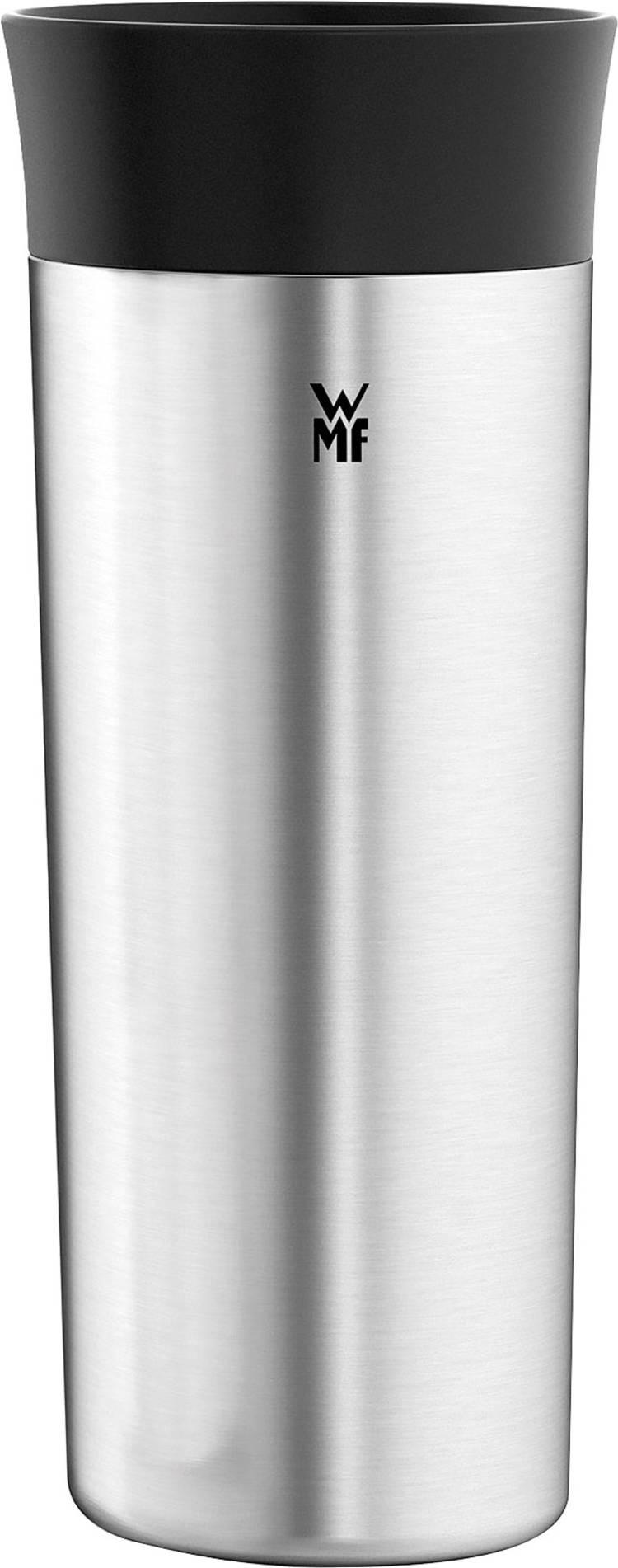 Image of WMF 0412970011 0412970011 Thermosbeker Zwart, Zilver (mat) 350 ml