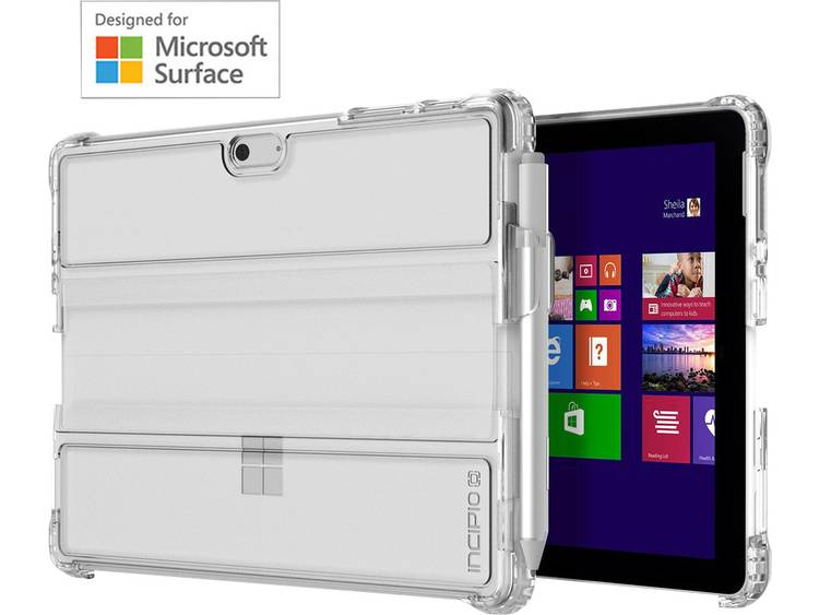 Incipio Bumper Model-specifieke tablet hoes Microsoft Surface Go Transparant