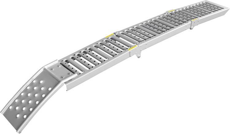 Image of LAS 10607 Oprijsteunen 800 kg Staal 200 mm x 26 cm x 5 cm