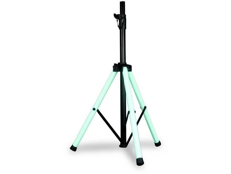 Statief voor PA-luidspreker In hoogte verstelbaar, Met afstandsbediening ADJ Color Stand LED 1 stuks