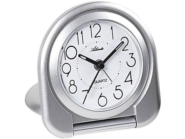 Atlanta Uhren 1909 19 Quartz Wekker Zilver
