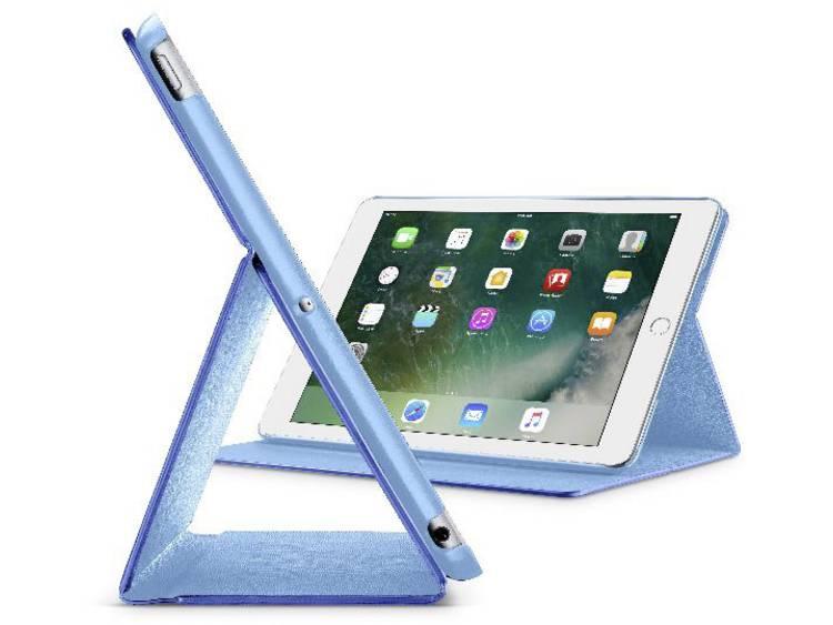 Cellularline iPad Cover / hoes Geschikt voor Apple: iPad 9.7 (maart 2018), iPad 9.7 (maart 2017), iPad Air Blauw