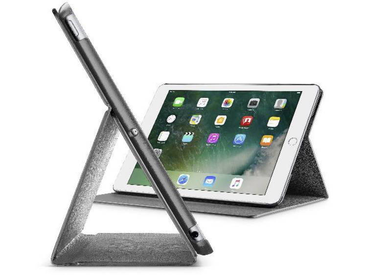 Cellularline iPad Cover / hoes Geschikt voor Apple: iPad Air, iPad 9.7 (maart 2017), iPad 9.7 (maart 2018) Zwart