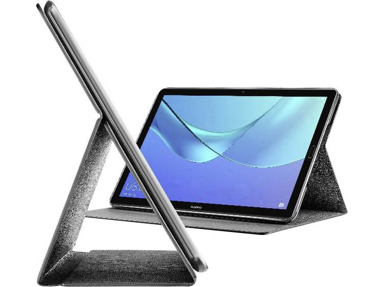 Cellularline Bookcase Tablet-cover Huawei Zwart