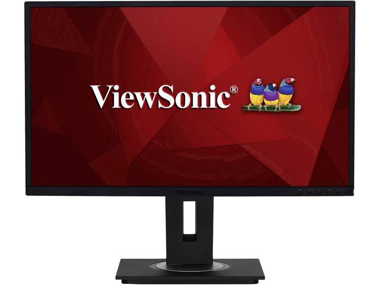 LCD-monitor 68.6 cm (27 inch) Viewsonic VG2748 Energielabel A 1920 x 1080 pix Full HD 5 ms VGA, HDMI, DisplayPort, USB 3.0 IPS LCD