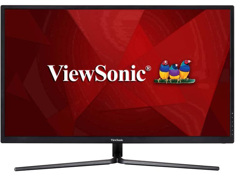 LCD-monitor 80 cm (31.5 inch) Viewsonic VX3211-4K-MHD Energielabel B 3840 x 2160 pix UHD 2160p (4K) 5 ms HDMI, DisplayPort, Hoofdtelefoon (3.5 mm jackplug)