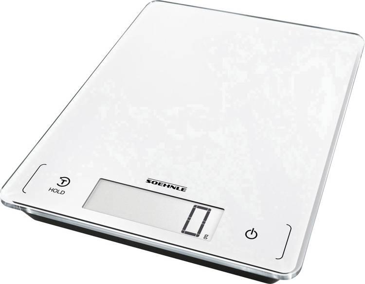 Digitale keukenweegschaal Soehnle KWD Page Profi 300 Weegbereik (max.)=20 kg Zilver