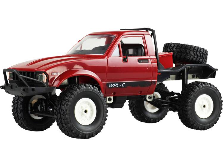 Amewi Pick-Up Truck 1:16 Brushed RC auto Elektro Terreinwagen 4WD RTR 2,4 GHz Incl. accu en laadkabe