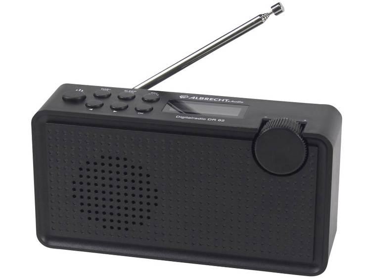 Albrecht DR 62 DAB+ Transistorradio DAB+, FM Zwart
