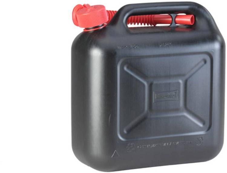 Jerrycan voor benzine Alutec 812800 (l x b x h) 324 x 164 x 333 mm