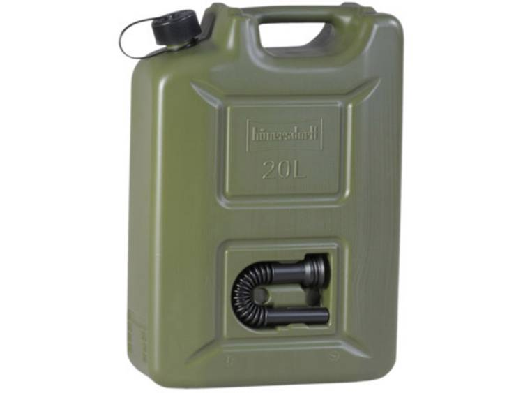 Jerrycan voor benzine Hünersdorff 802000 (l x b x h) 495 x 165 x 350 mm