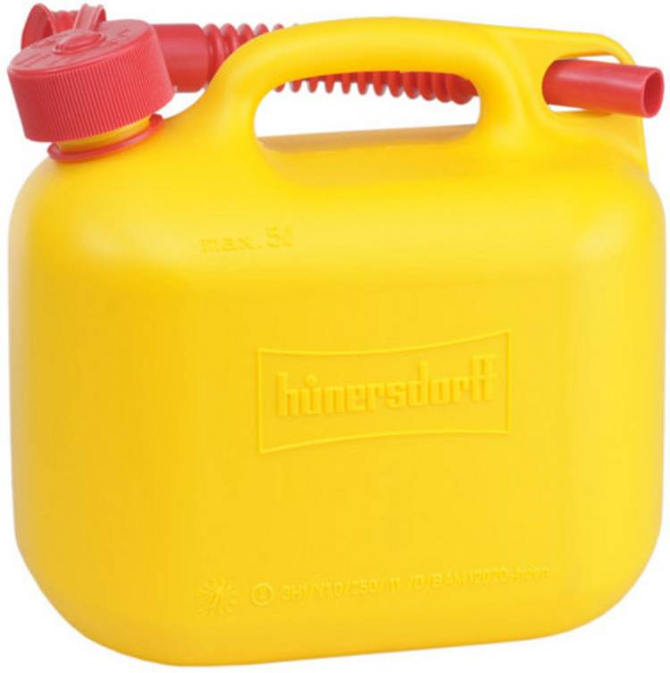 Jerrycan voor benzine Alutec 811570 (l x b x h) 247 x 147 x 265 mm