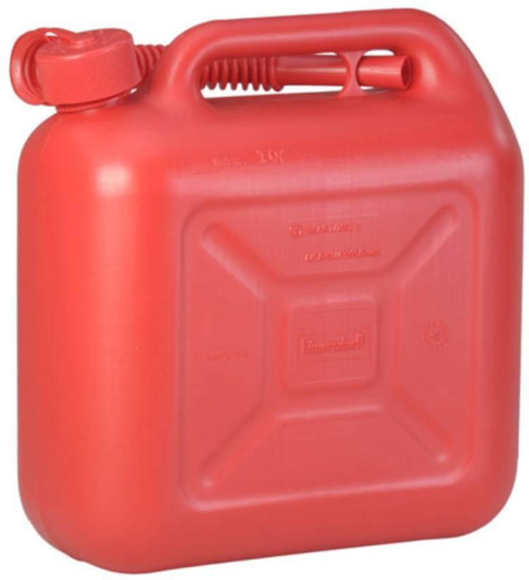 Jerrycan voor benzine Alutec 812873 (l x b x h) 324 x 164 x 333 mm