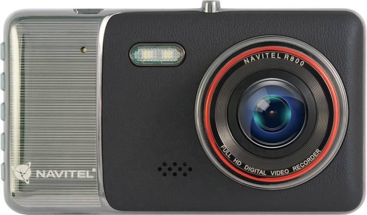 Image of NAVITEL R800 Dashcam Kijkhoek horizontaal (max.): 170  12 V Display, Microfoon