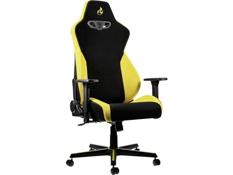 Nitro Concepts S300 Astral Yellow Gaming stoel Zwart, Geel