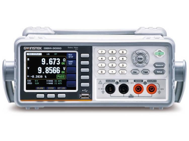 GW Instek Batterijtester GBM-3080 Accu, Batterij GBM-3080