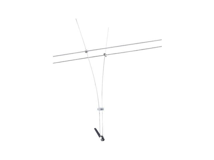 Paulmann Comet 12V-kabelsysteem lamp GU5.3 35 W Halogeen Chroom
