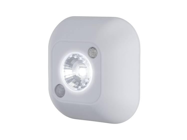 Paulmann 78971 Nachtlamp met bewegingsmelder Vierkant LED Daglicht-wit Wit