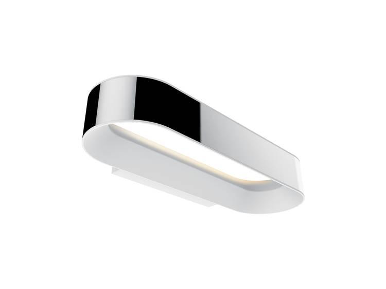 LED-badkamer wandlamp 20 W Warm-wit Paulmann 70948 Agena Chroom, Wit (mat)