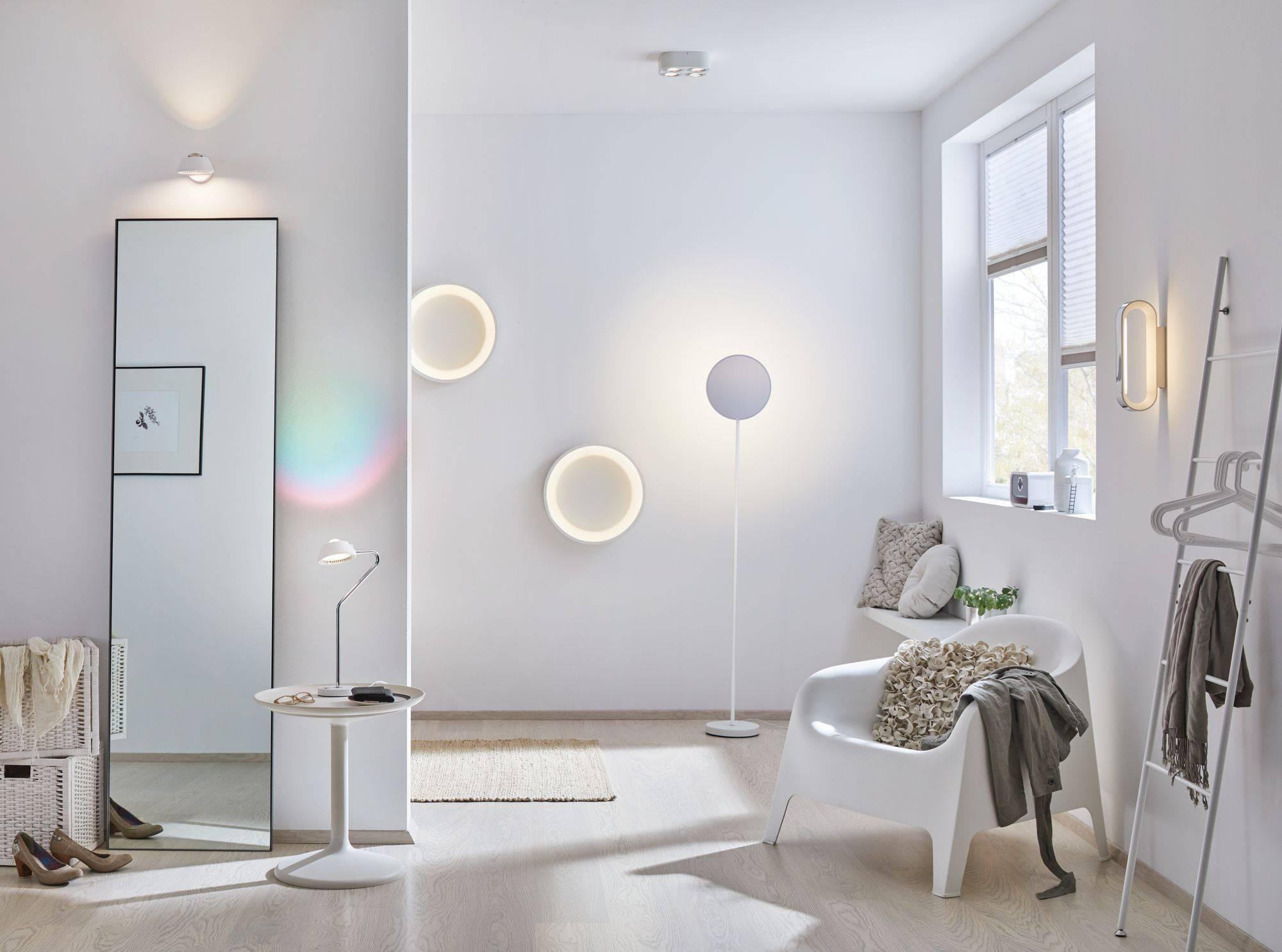 Badkamer Design Wandlamp : Led badkamer wandlamp w warm wit paulmann agena chroom