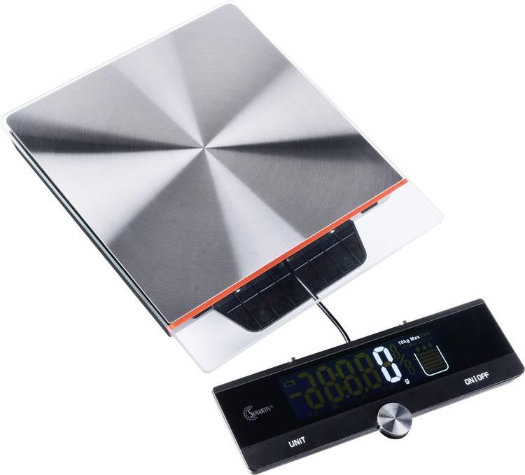 Image of Digitale keukenweegschaal MINGLE ME315 Weegbereik (max.)=10 kg RVS, Zwart