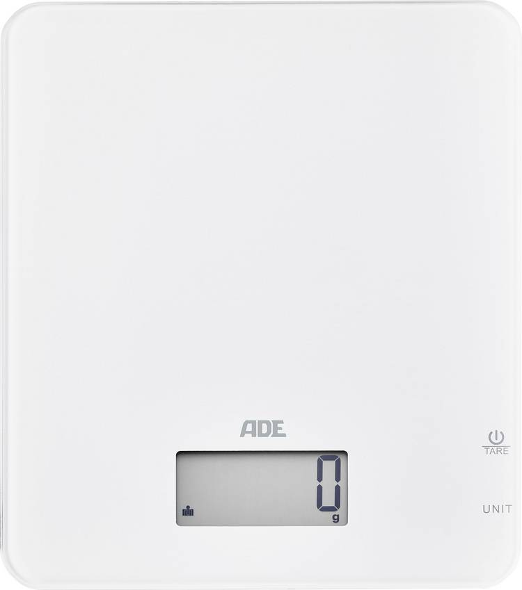 Image of Digitale keukenweegschaal ADE KE 1713 Cleo Weegbereik (max.)=5000 g Wit