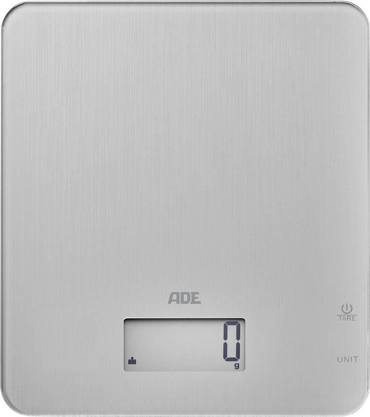 Image of Digitale keukenweegschaal ADE KE 1714 Cleo Weegbereik (max.)=5 kg Zilver