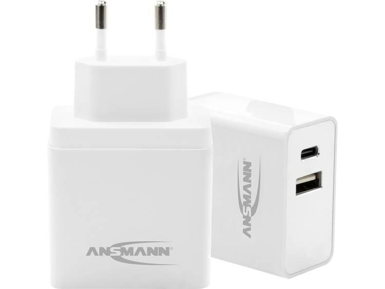 Ansmann 1001 0069 USB oplader 5 V DC 4800 mA 24 W