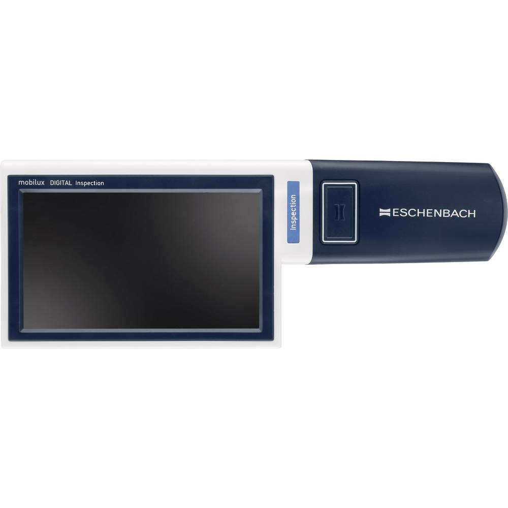 Eschenbach 1651101 mobilux® DIGITAL Inspection Leesloep Met verlichting Vergrotingsfactor: 15 x Blauw, Wit