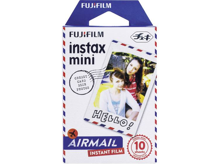 Fujifilm Instax Mini Colorfilm Airmail (1-Pak)