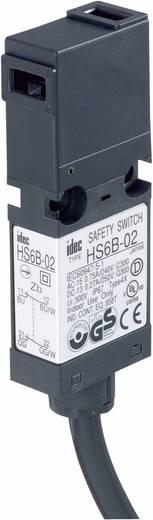 Idec HS6B-11B01 Veiligheidsschakelaar 250 V/AC 3 A Metalen hefboom, recht, Metalen hefboom, gebogen schakelend IP67 1 stuks