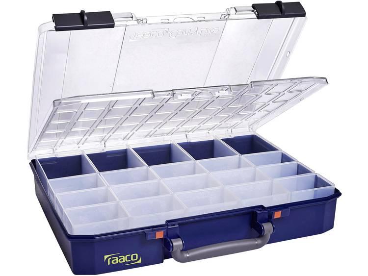raaco CarryLite 80 5x10-20 DLU Assortimentskoffer Aantal vakken: 20