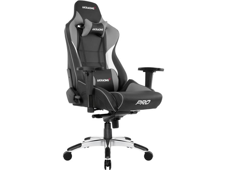 AKRACING Master Pro Gaming stoel Grijs
