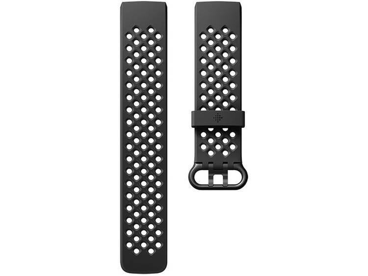 FitBit Charge 3 Sportarmband Reserve armband Maat: S Zwart