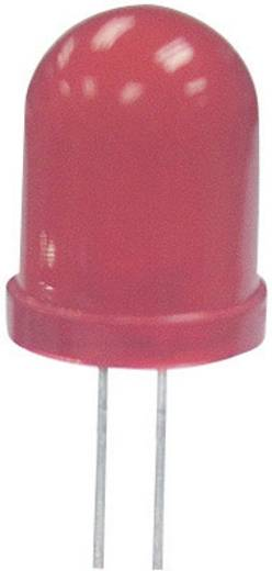 Kingbright L-793SRD-E LED bedraad Rood Rond 8 mm 450 mcd 60 ° 20 mA 1.85 V
