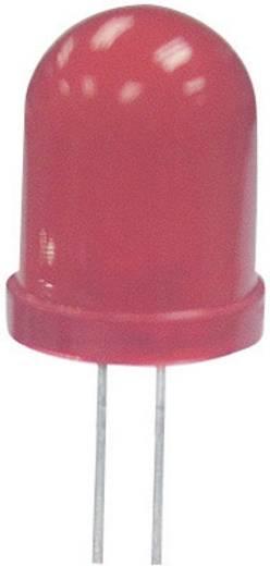 Kingbright L-813SRD-E LED bedraad Rood Rond 10 mm 450 mcd 60 ° 20 mA 1.85 V