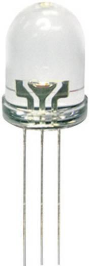 Kingbright L-799EGW LED meerkleurig Rood, Groen Rond 8 mm 80 mcd, 50 mcd 50 ° 20 mA 2 V, 2.2 V