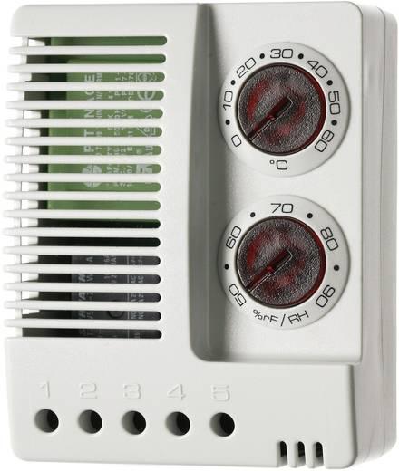 Finder 7T.91.8.230.4050 Thermo/Hygrostaat voor schakelkastverwarming 230 V/AC 1x wisselaar (l x b x h) 77 x 59 x 38 mm