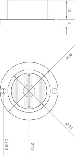 ledxon 9008131 HighPower LED-module Koud-wit 1 W 100 lm 3 °, 60 ° 2.8 V