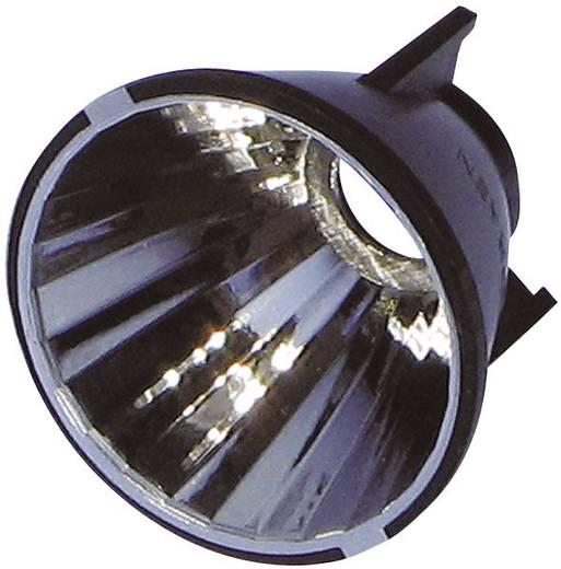 LED-reflector Zwart, Chroom 7 ° A