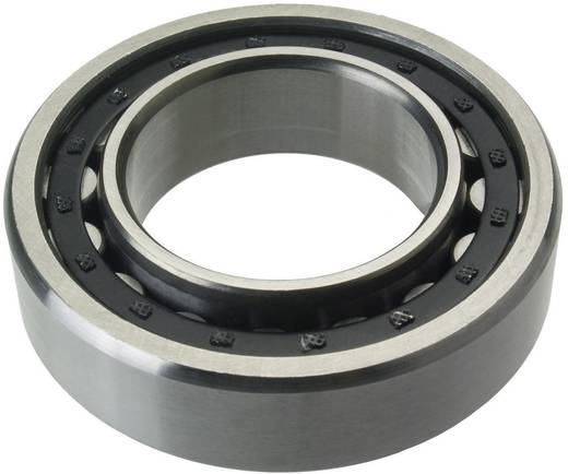 Enkele rij cilindrische kogellagers ontwerp N FAG NU2307-E-M1 Boordiameter 35 mm Buitendiameter 80 mm Toerental (max.) 9000 omw/min