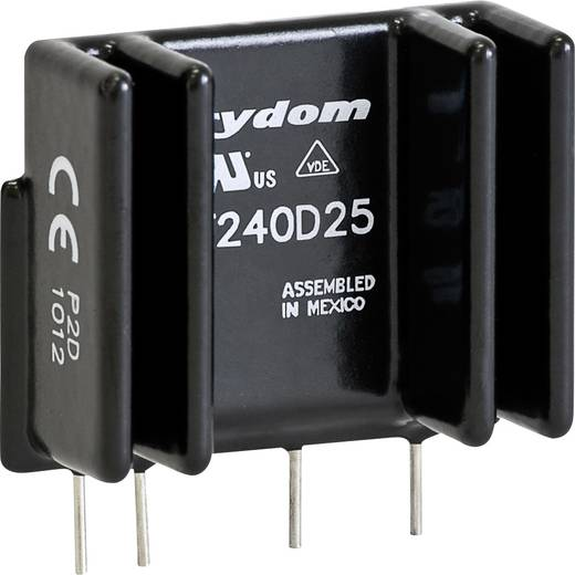 Crydom PF480D25 Halfgeleiderrelais 1 stuks Laadstroom (max.): 25 A Schakelspanning (max.): 660 V/AC Schakelend bij overb