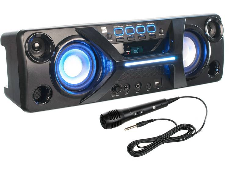 Dual DSBX 90 Party speaker 36 W 1 stuk(s)