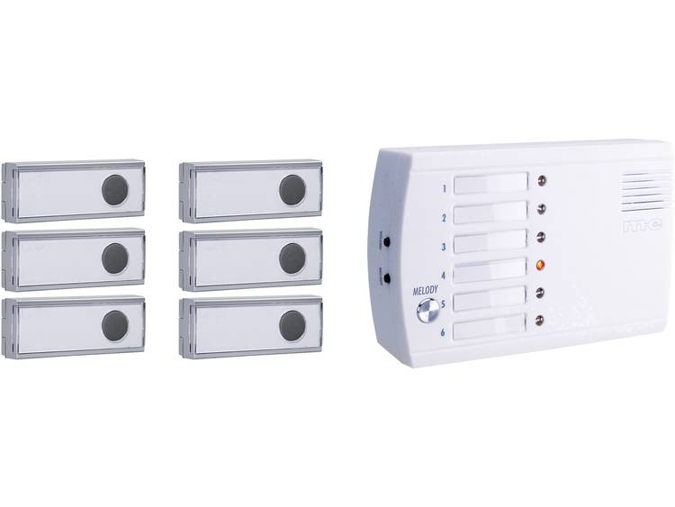 m-e modern-electronics FRS-106.1 Draadloos belsysteem voor Draadloze deurbel