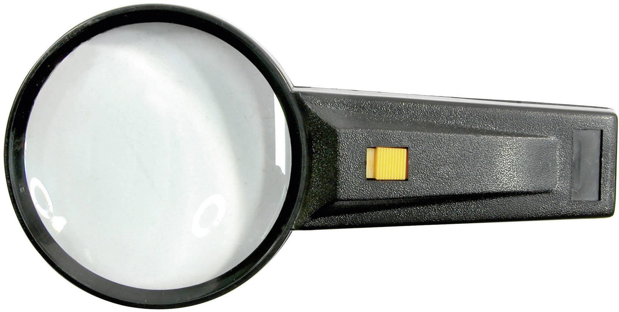 Vergrootglas met verlichting Vergrotingsfactor: 2 x Lensgrootte: (Ø ...