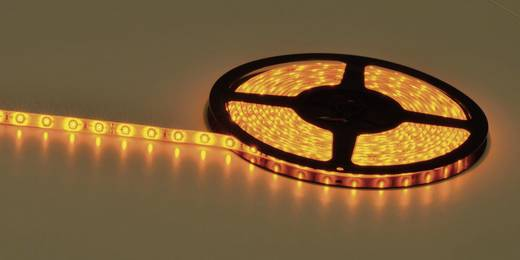LED-strip Amber met open kabeleind 24 V 502 cm Barthelme Y51516422 182408