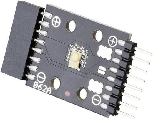 LED-strip Warmwit met stekker / bus 4 cm Barthelme 61003128 61003128